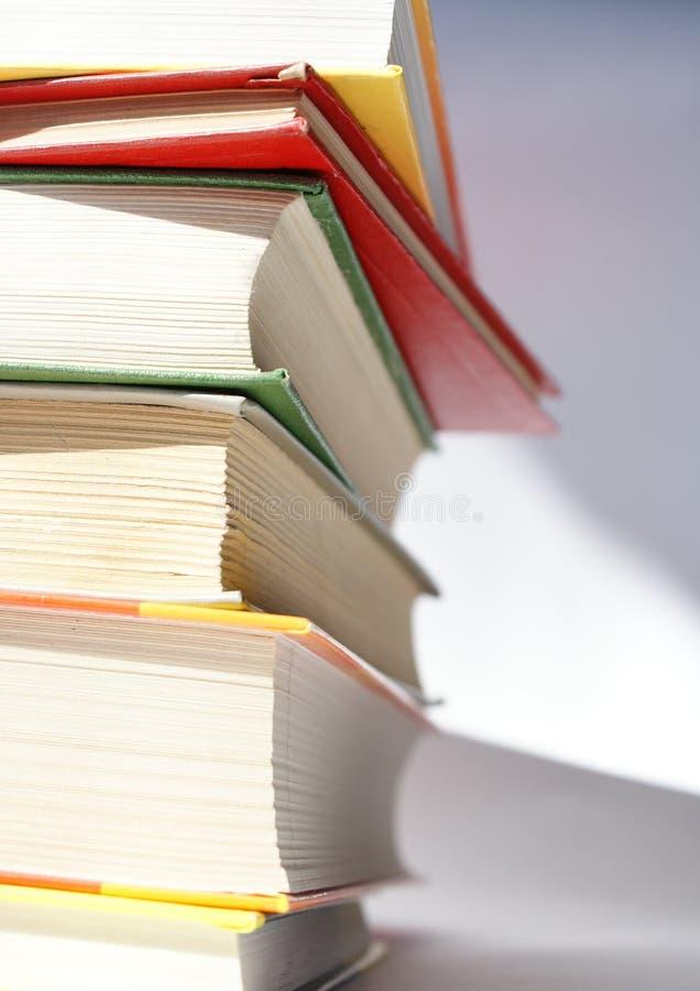 Pila de los libros 2 fotografía de archivo