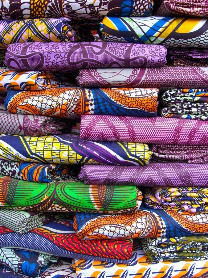Pila de material en las Áfricas occidentales imágenes de archivo libres de regalías
