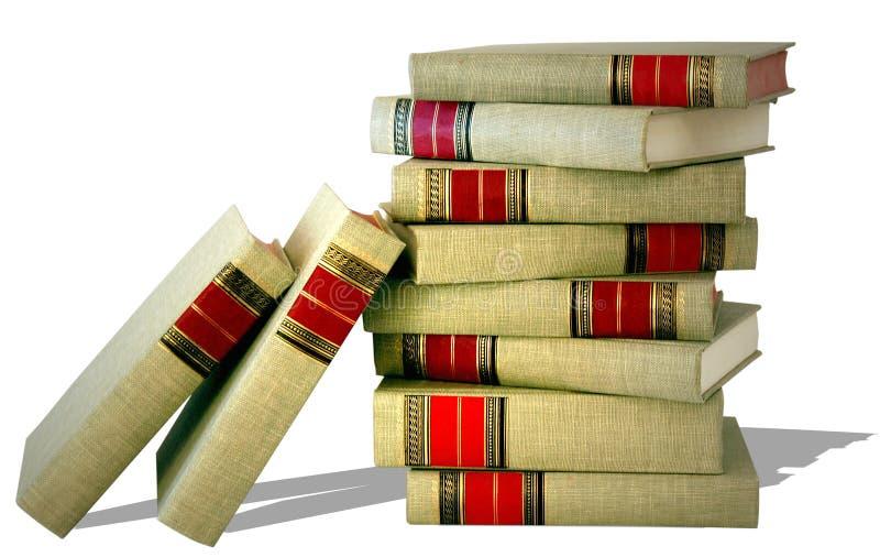 Pila de obras clásicas fotos de archivo libres de regalías