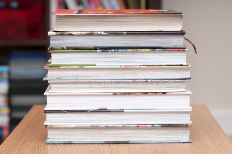 Pila de páginas del libro fotografía de archivo libre de regalías