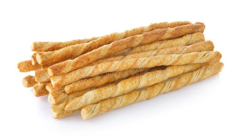Pila de palillos deliciosos del pretzel imagen de archivo libre de regalías