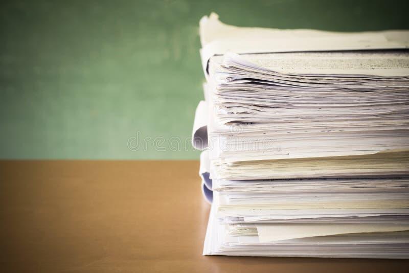 Pila de papel foto de archivo