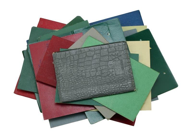 Pila de papeles personales antiguos foto de archivo libre de regalías