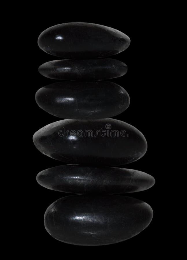 Pila de piedra imagen de archivo