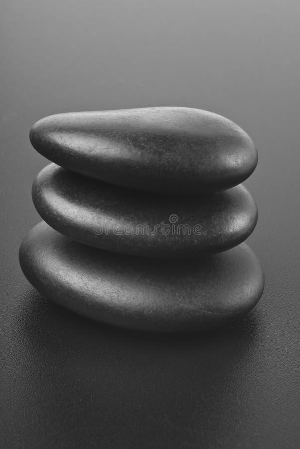 Pila de piedras equilibradas del zen fotos de archivo libres de regalías