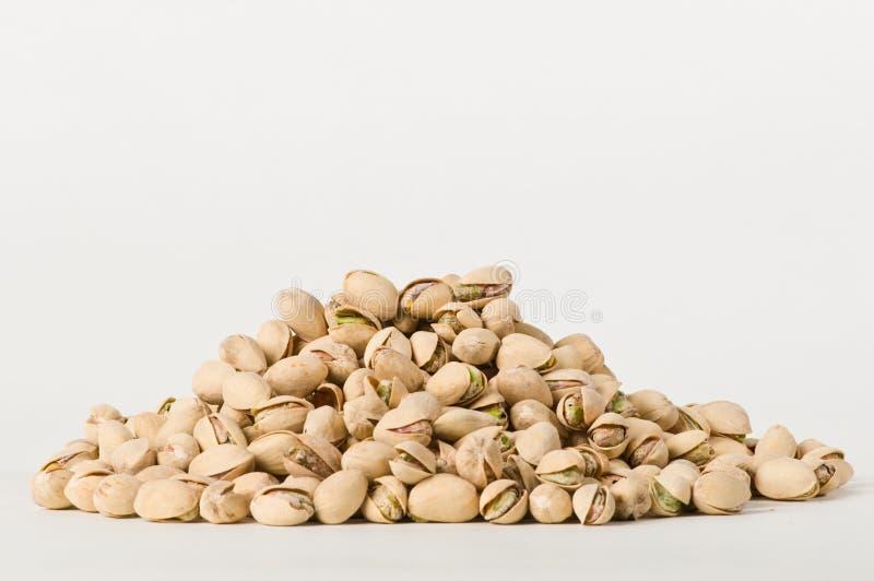 Pila de pistachos imagen de archivo libre de regalías
