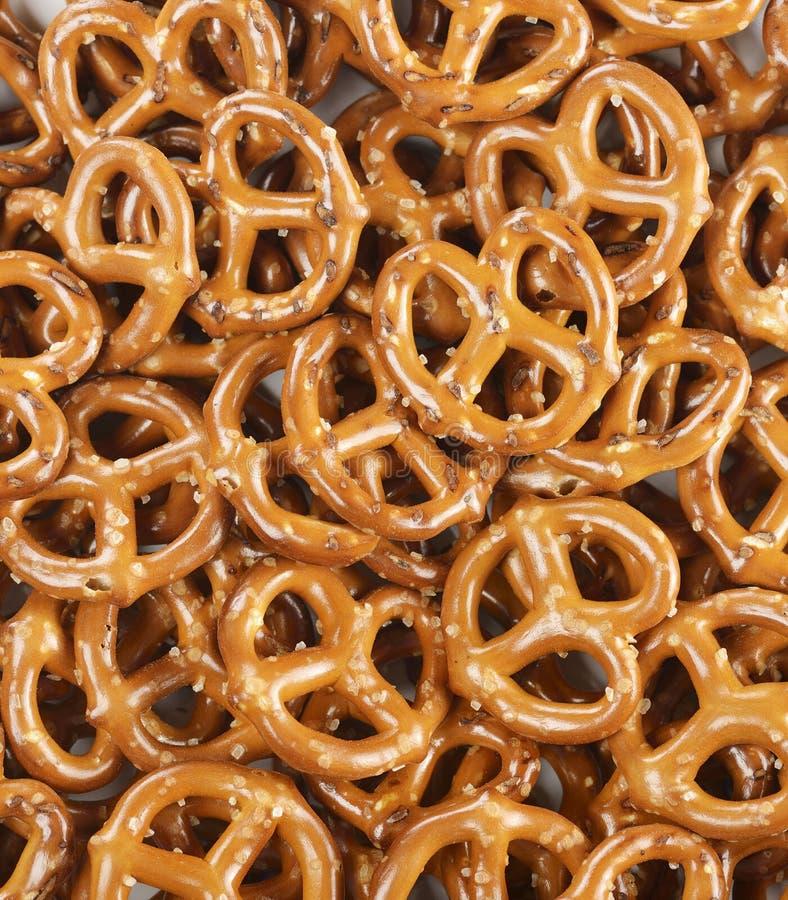 Pila de pretzeles imagen de archivo libre de regalías