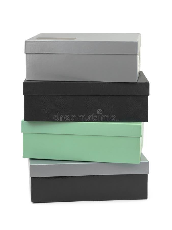 Pila de rectángulos foto de archivo libre de regalías