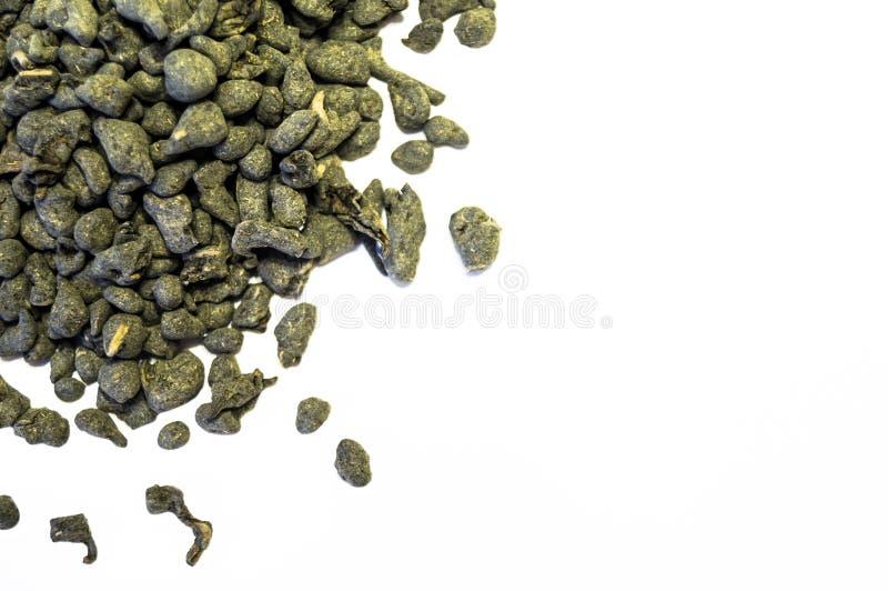 Pila de té aislada en el fondo blanco imágenes de archivo libres de regalías