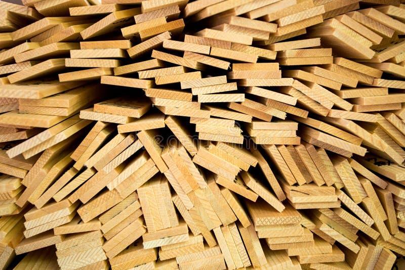 Pila de tablero de madera imágenes de archivo libres de regalías