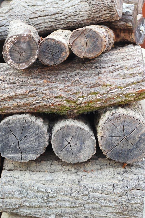 Pila de textura del fondo de madera de pino imágenes de archivo libres de regalías