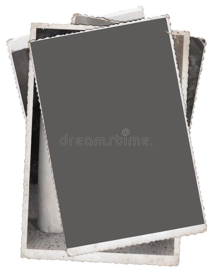 Pila de vieja fotografía imagenes de archivo