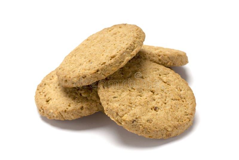 Pila del biscotto fotografie stock