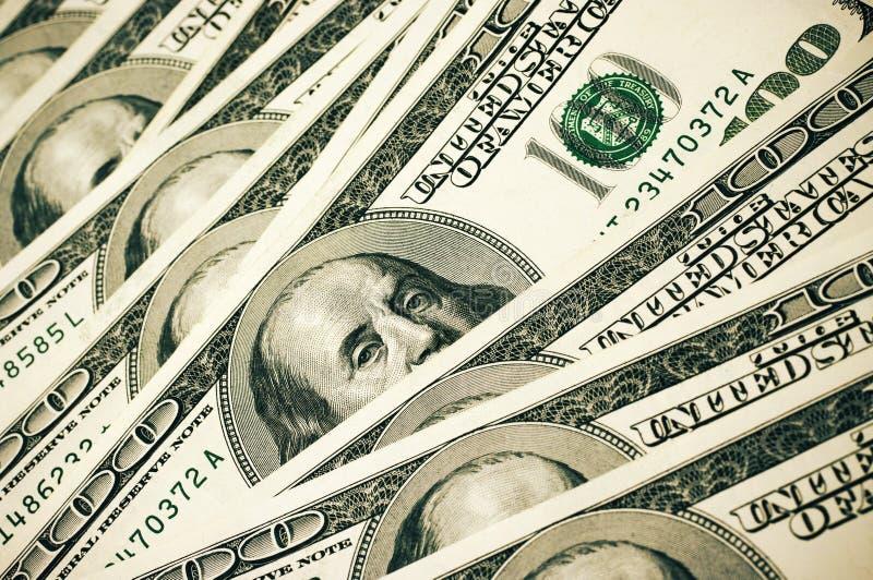 Pila del dinero foto de archivo