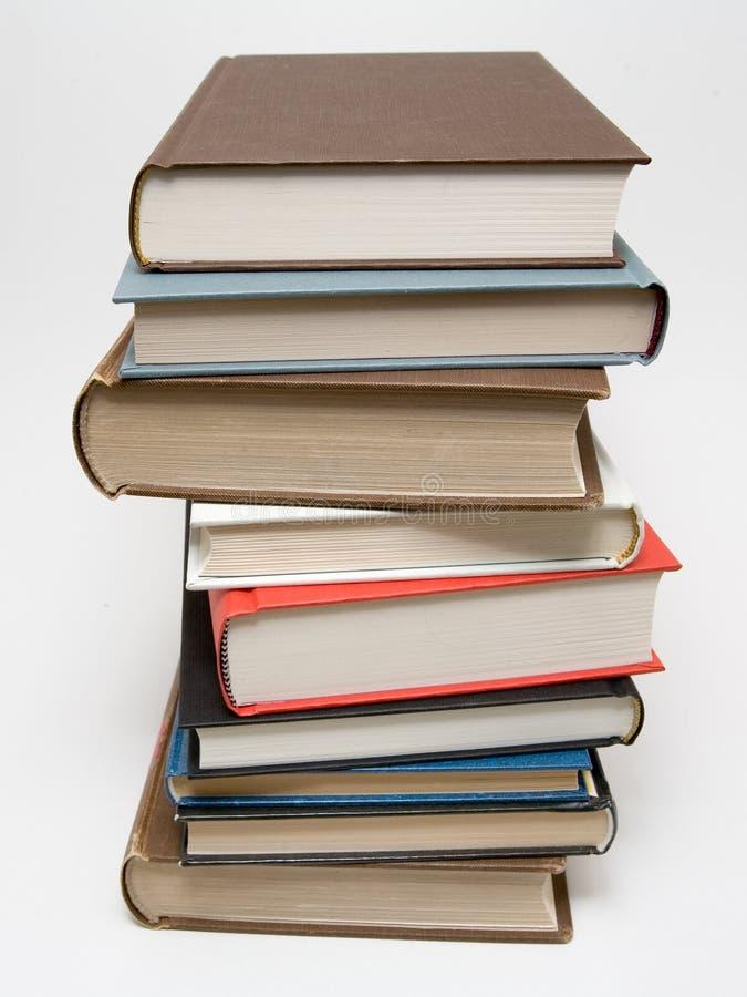 Pila del libro foto de archivo