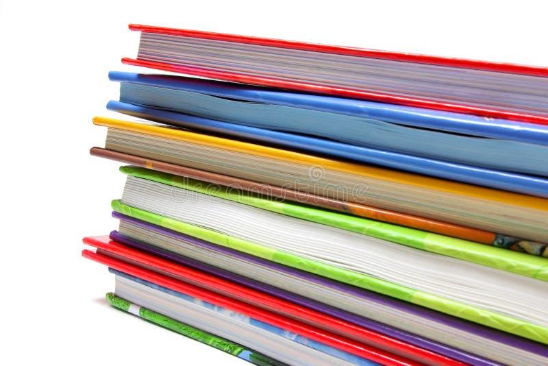 Pila del libro fotos de archivo libres de regalías