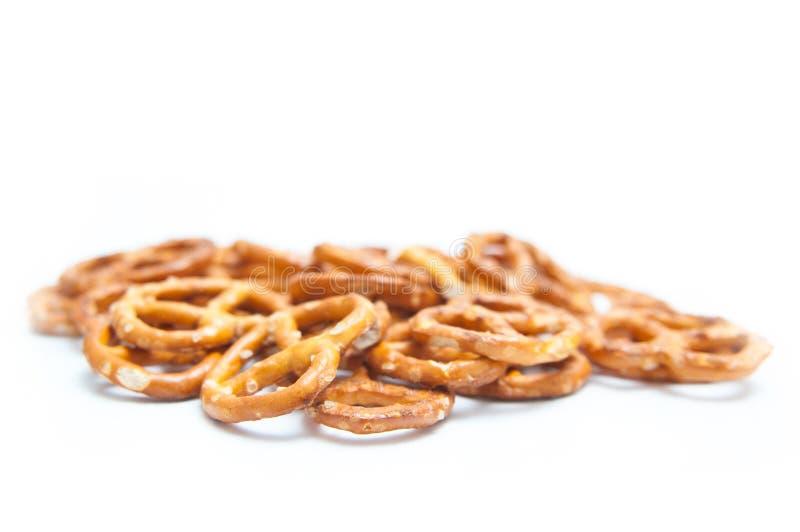 Pila del pretzel imagenes de archivo