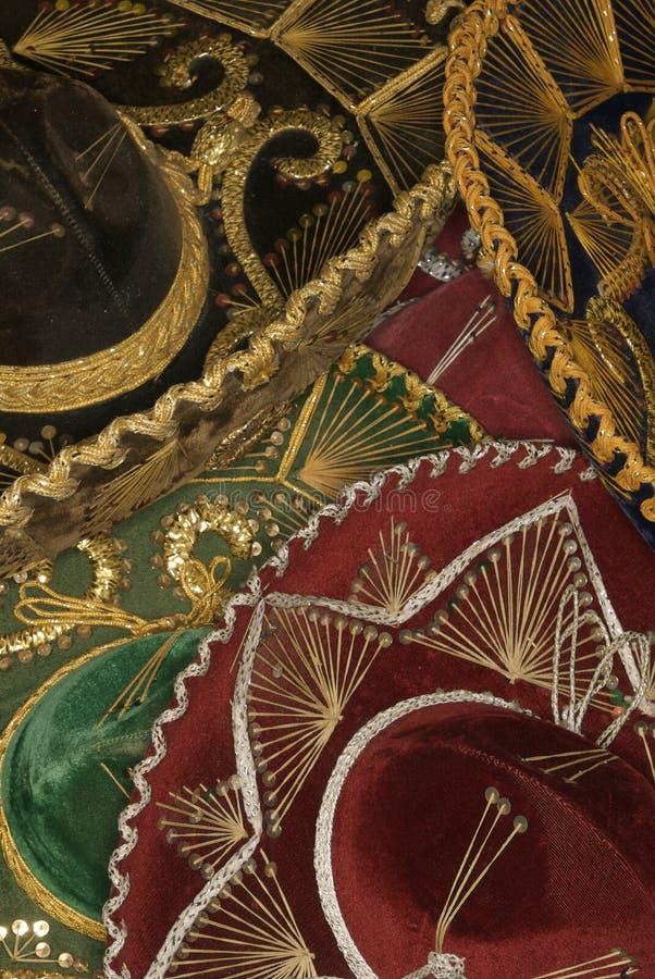 Pila del sombrero - vertical fotos de archivo