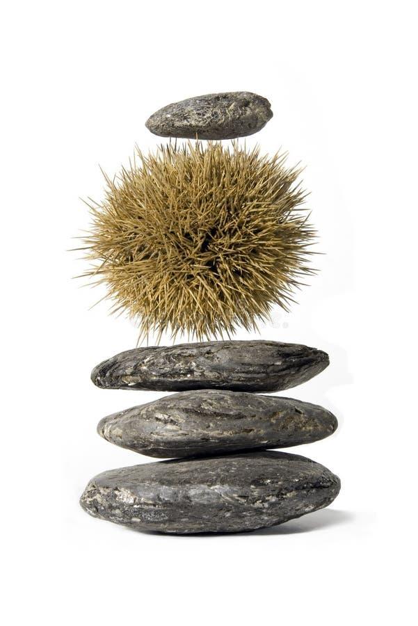 Pila del zen fotografía de archivo