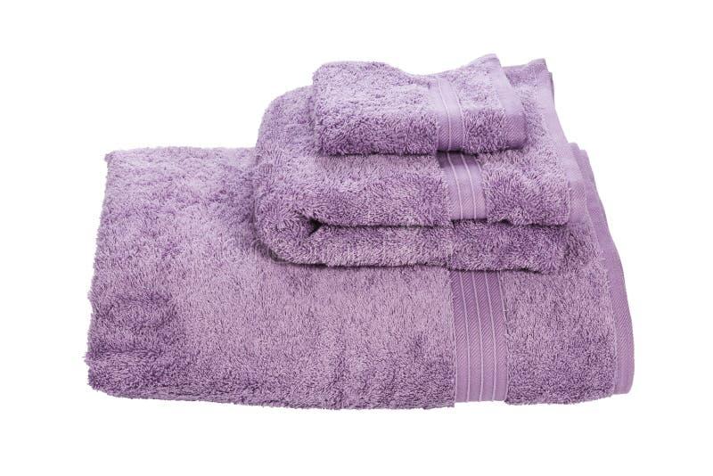 Pila di asciugamani. fotografia stock libera da diritti