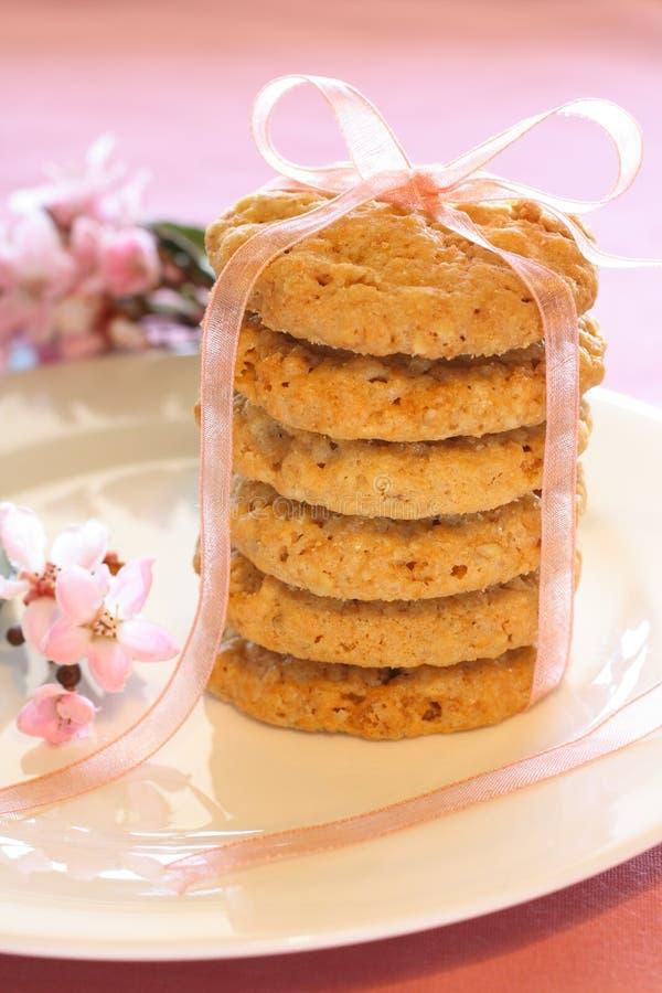 Pila di biscotti fotografia stock libera da diritti