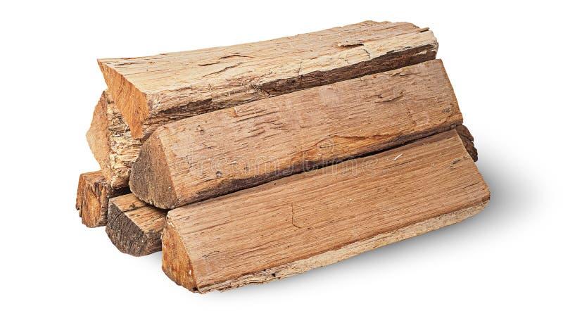 Pila di legna da ardere rotante fotografia stock