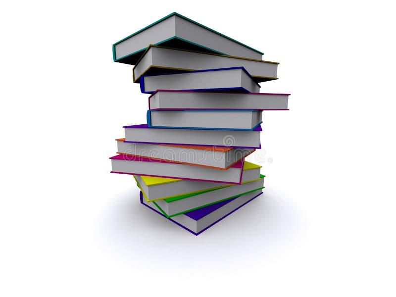 Download Pila di libri illustrazione di stock. Illustrazione di concetti - 3880357