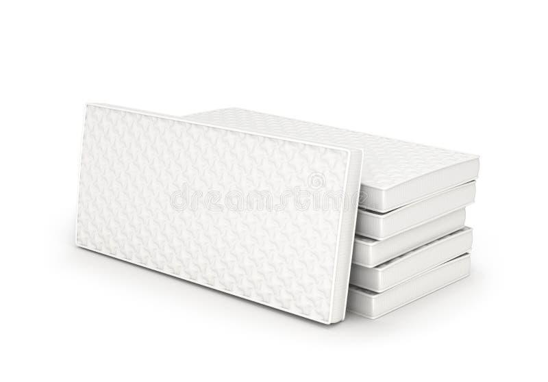 Pila di materassi, royalty illustrazione gratis