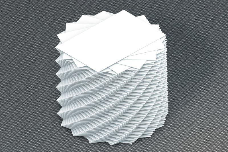 Download Pila Di Molte Carte Di Modello Di Carta Alla Presentazione Immagine Stock - Immagine di opuscolo, bandiera: 56877789