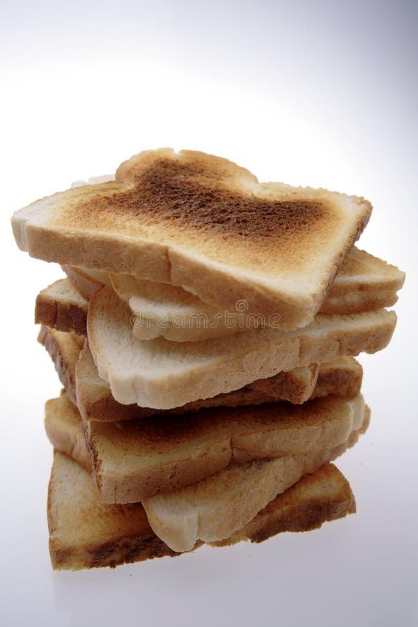 Pila di pane tostato immagine stock libera da diritti