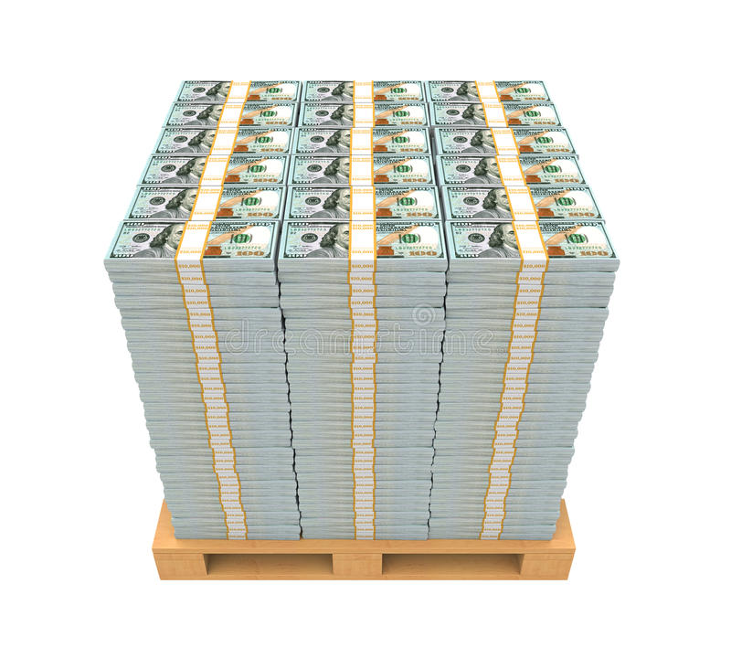 Image result for pallet of new 100 dollar bills