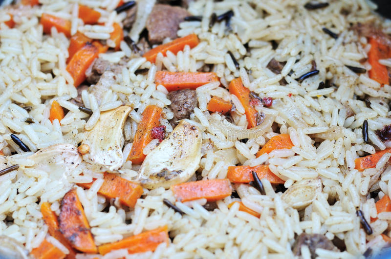 Pilaf stock photography