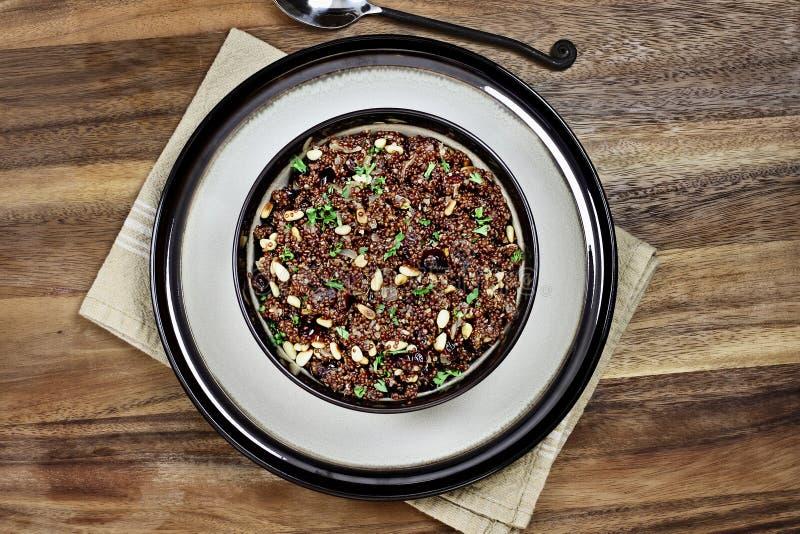 Pilaf de quinoa images libres de droits