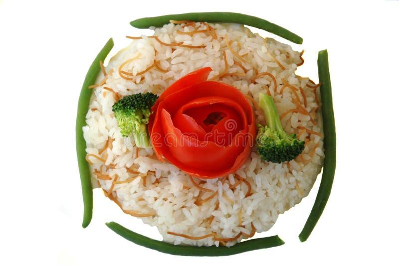 Pilaf del riso fotografia stock
