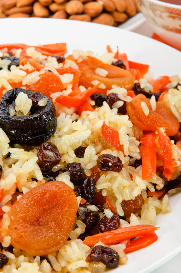 Download Pilaf Made of Rice And Dried Fruits. Stock Photo - Image: 22599850
