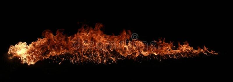 Pilar del fuego fotografía de archivo