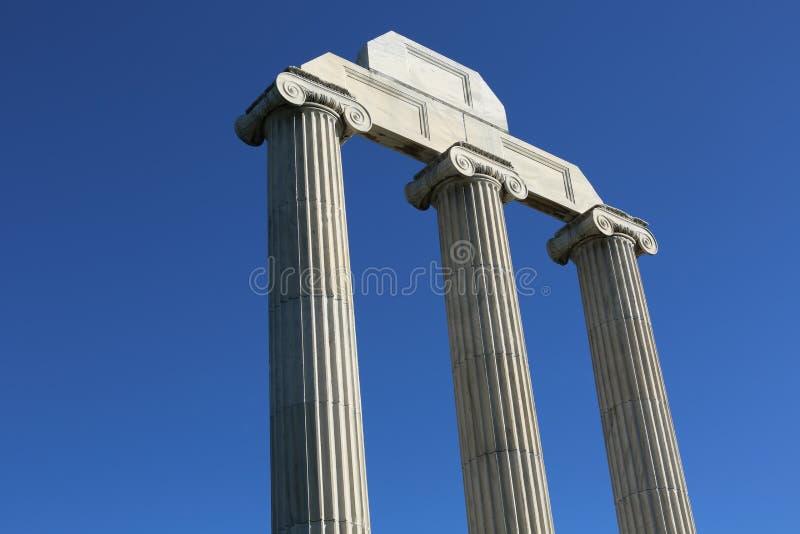 Pilar griego foto de archivo libre de regalías