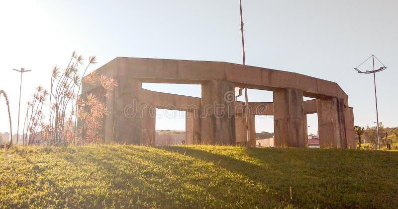 Pilares de las piedras imagen de archivo libre de regalías