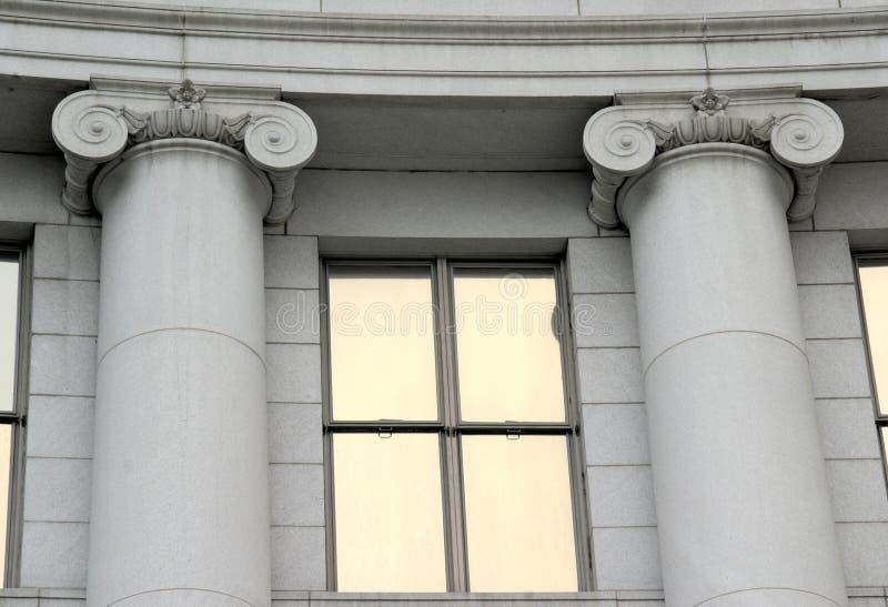 Pilares históricos de Denver foto de archivo libre de regalías