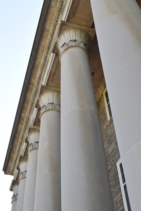Pilars do cano principal velho foto de stock royalty free