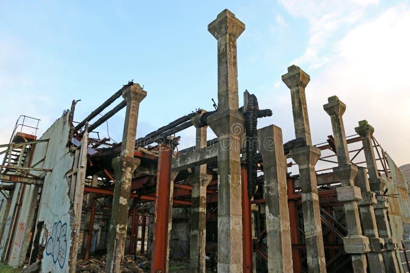 Pilastro abbandonato fotografie stock libere da diritti