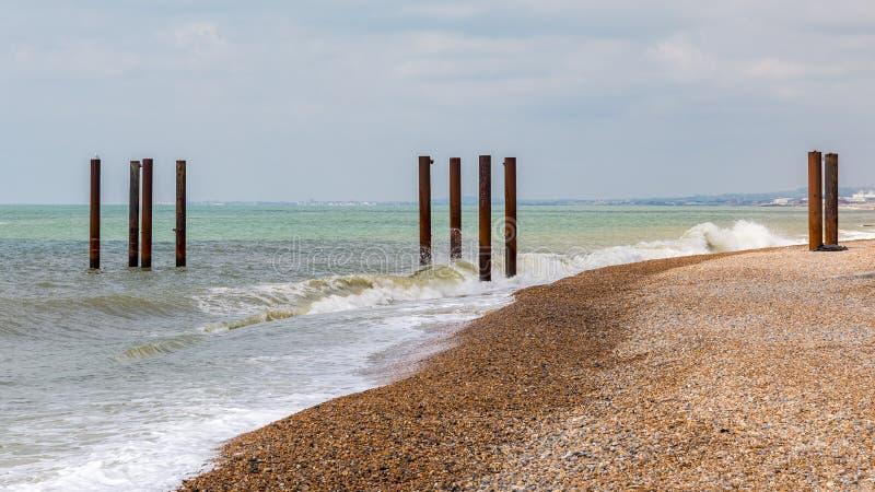 Pilastro ad ovest, Brighton, Regno Unito fotografie stock