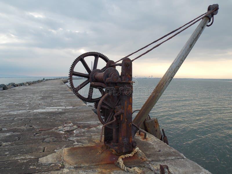 Pilastro del mare immagini stock