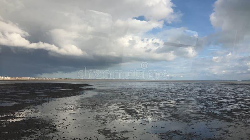 Pilastro del Southend-su-mare fotografie stock libere da diritti