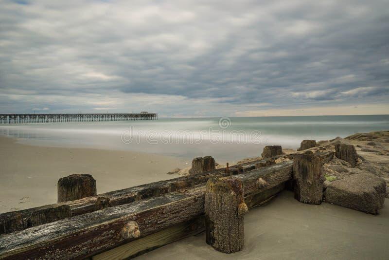 Pilastro dell'Oceano Atlantico immagine stock libera da diritti