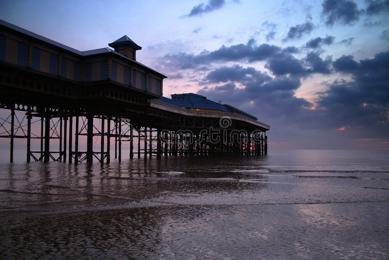 Pilastro di Blackpool fotografie stock