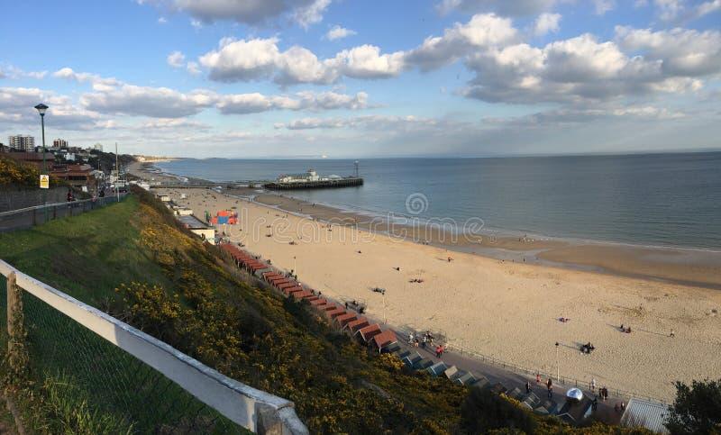 Pilastro di Bournemouth fotografia stock libera da diritti