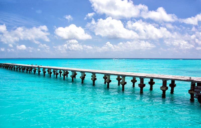 Pilastro di Cancun immagini stock