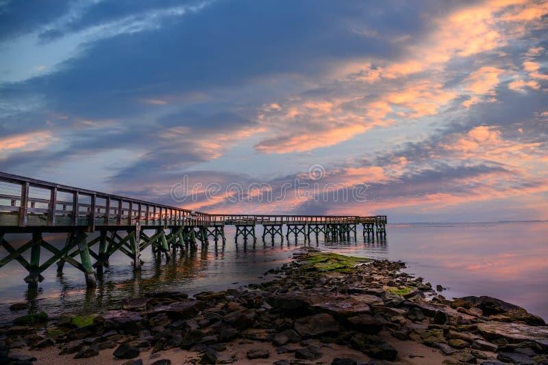 Pilastro di tramonto fotografia stock libera da diritti