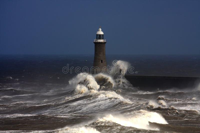 Pilastro di Tynemouth immagini stock